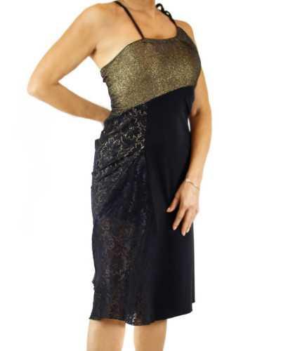 Skirt Tubino 2 Spacchi Paillettes Option 1