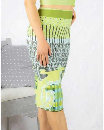 Skirt Tubino Vita Alta Option 27
