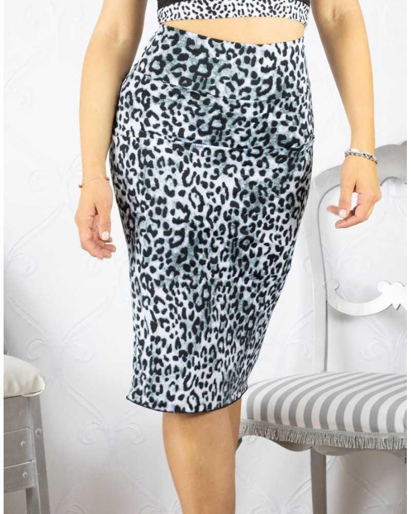 Skirt Tubino Vita Alta Option 31