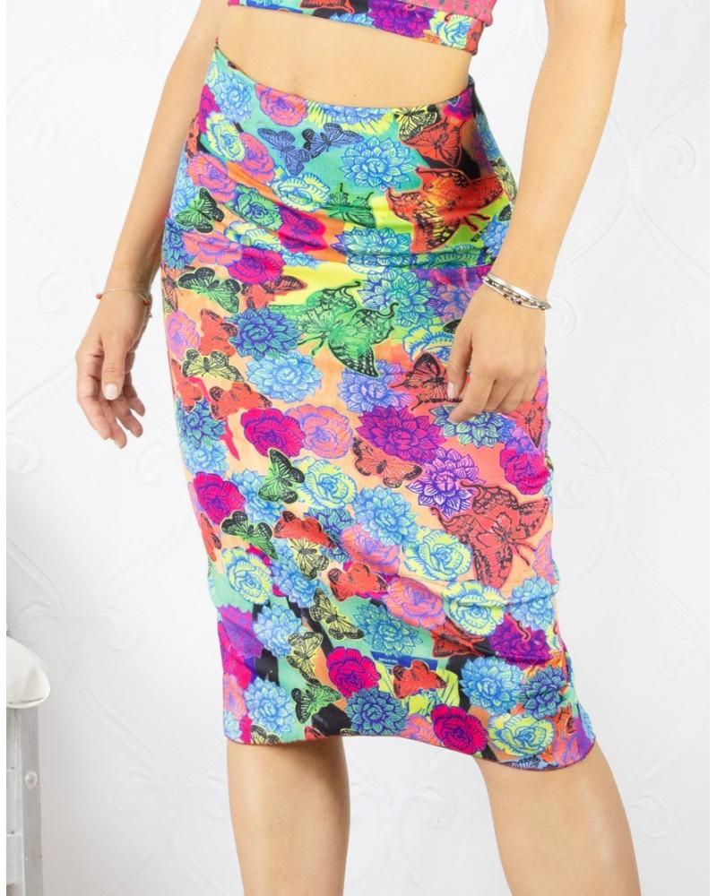 Skirt Tubino Vita Alta Option 34