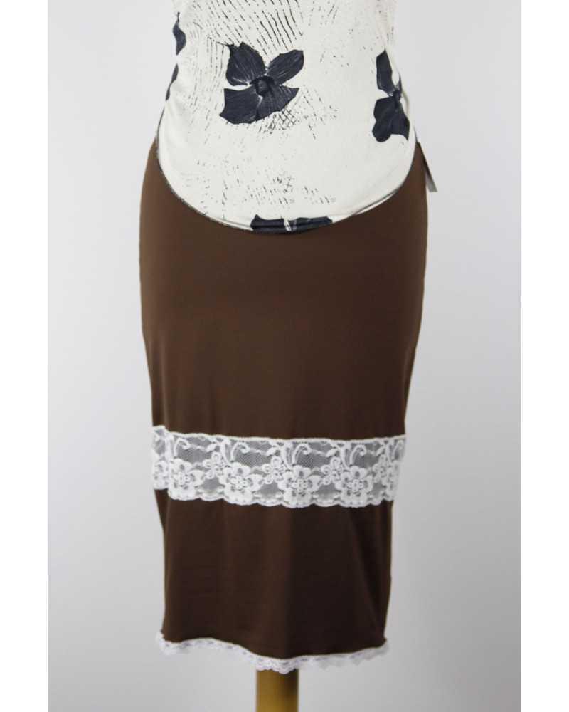 Skirt Tubino Vita Alta Option 24