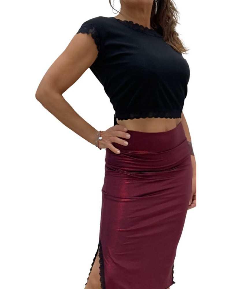 Skirt Tubino Pizzo Opzione 1