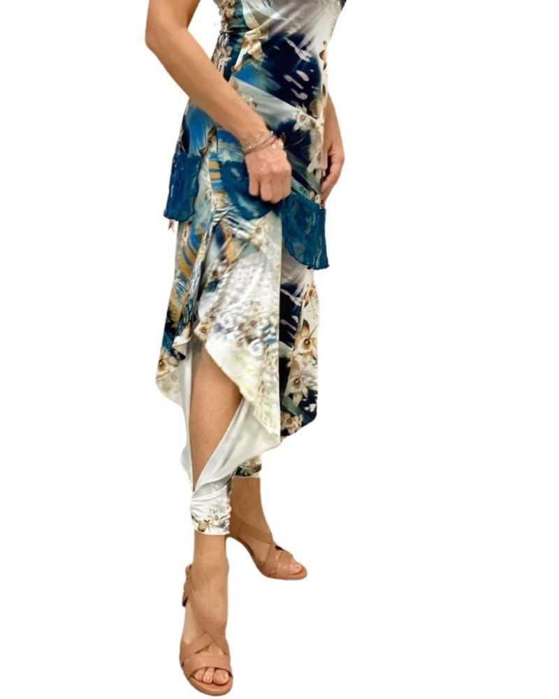 Skirt Tubino Vita Alta Paillettes Option 23