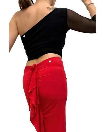 Skirt Tubino Vita Alta Option 28